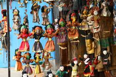 Free Nepalese Puppets Stock Photos - 28513123