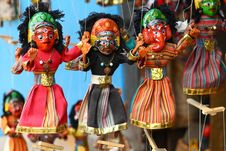 Free Nepalese Puppets Royalty Free Stock Photos - 28513138
