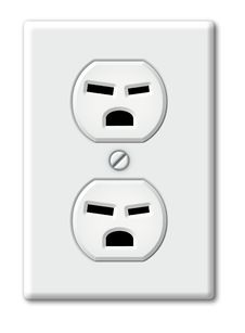 Free Angry Outlet Stock Photo - 28514030