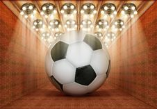 Free Soccer Museum Stock Photography - 28514352