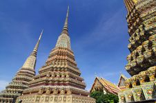 Free Thai Architecture In Wat Pho Stock Photography - 28516902