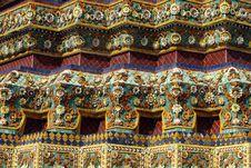 Free Sculpture In Wat Pho Stock Photos - 28517123