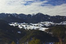 Free Winter Landscape In Rodopi Mountain_7 Stock Photography - 28517632