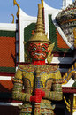 Free Thai Giant In Grand Palace Stock Images - 28523844