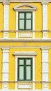 Free Yellow Windows Wall Royalty Free Stock Image - 28523946