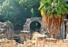 Free Ancient Roman Ruins Royalty Free Stock Image - 28521186