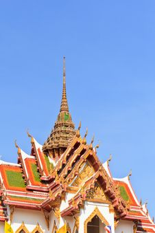 Free Roof Thailand Royalty Free Stock Photo - 28522995