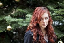 Free Young Woman With Beautiful Auburn Hair Royalty Free Stock Photography - 28524377