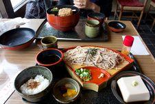 Japanese Noodle Stock Photo