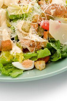 Free Caesar Salad Royalty Free Stock Images - 28526739