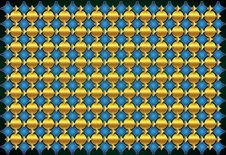 Free Elegant Gold Blue Background Stock Photos - 28528333