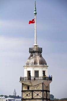 The Maiden S Tower Stock Photo