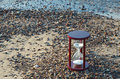 Free Hourglass On The Beach Royalty Free Stock Image - 28533846