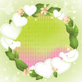 Free Spring Background For Valentine&x27;s Day Royalty Free Stock Images - 28538569
