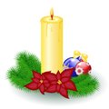 Free Christmas Candle Stock Photos - 28539583