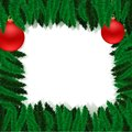Free Christmas Furtree Frame Stock Images - 28539594