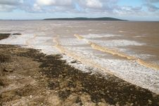 Brean Down Somerset From Weston-super-Mare Stock Photos