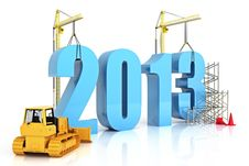 Free Year 2013 Growth Royalty Free Stock Image - 28535496