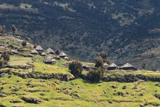 Free Village In Ethiopia. Stock Photo - 28537610