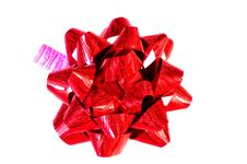 Free Decorative Red Bow Royalty Free Stock Photo - 28538405