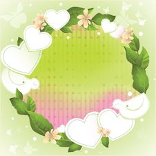 Free Spring Background For Valentine S Day Royalty Free Stock Images - 28538569