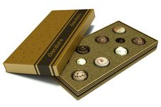Free Box Of Assorted Chocolates Royalty Free Stock Images - 28539209