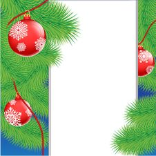 Free Christmas Tree With Toys Stock Photos - 28539603