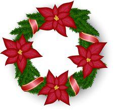 Free Christmas Wreath Stock Photos - 28539613