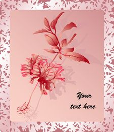 Free Romantic Greeting Card Royalty Free Stock Photo - 28539645