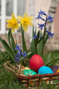 Free Easter Eggs Royalty Free Stock Photography - 28542937