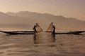 Free Fisherman Of Inle Lake Royalty Free Stock Photo - 28543595