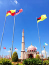 Free Putra Mosque Royalty Free Stock Image - 28547626