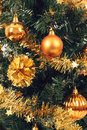 Free Yellow Decorated Christmas Tree Stock Images - 28547794