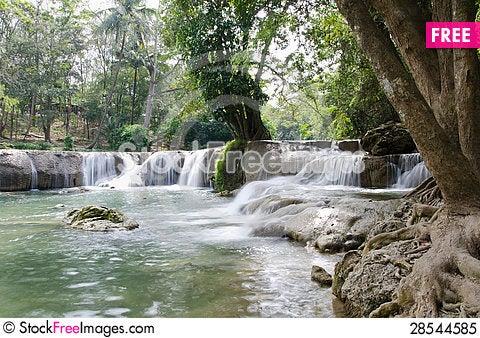 Free Waterfall Named Royalty Free Stock Photo - 28544585