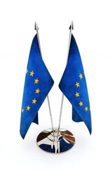 Free European Union Miniature Flags Royalty Free Stock Photo - 28541515