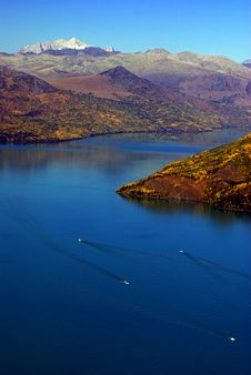 Kanas Lake China Royalty Free Stock Images