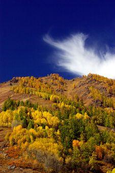 Free Before Autumn In Hermu China Stock Image - 28542261