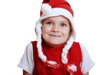 Free Xmas Girl Royalty Free Stock Image - 28544326
