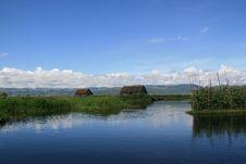 Free Floating Gardens On Inle Lake, Burma &x28;Myanmar&x29; Royalty Free Stock Photography - 28547187