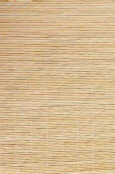 Free Bamboo Mat Royalty Free Stock Photography - 28547667