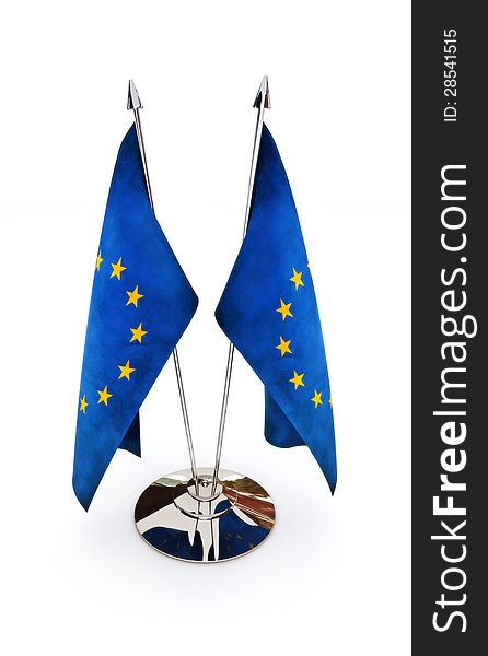 European Union miniature flags