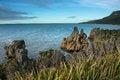 Free Sea Coast From Punakaki National Park, New Zealand. Stock Image - 28550271