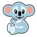 Free Simple Childish Koala Royalty Free Stock Photo - 28553895
