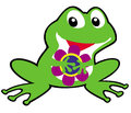 Free Simple Childish Frog Royalty Free Stock Photography - 28553907