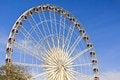 Free Ferris Wheel In Blue Sky Royalty Free Stock Image - 28554546