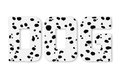 Free Text DOG Woolly Dalmatians Stock Images - 28557304