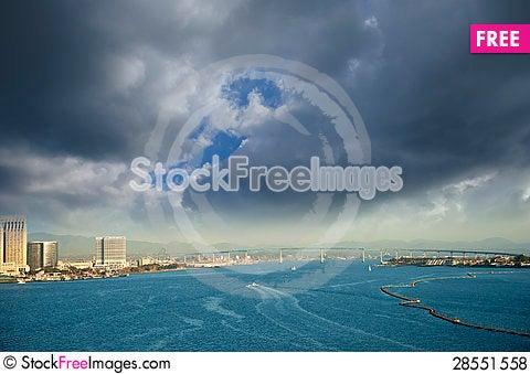 Free San Diego Harbor Royalty Free Stock Photos - 28551558