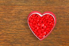 Free Candy Hearts Stock Image - 28550451