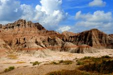 Free Badlands South Dakota Stock Image - 28552011