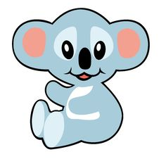 Free Simple Childish Koala Royalty Free Stock Photo - 28553895